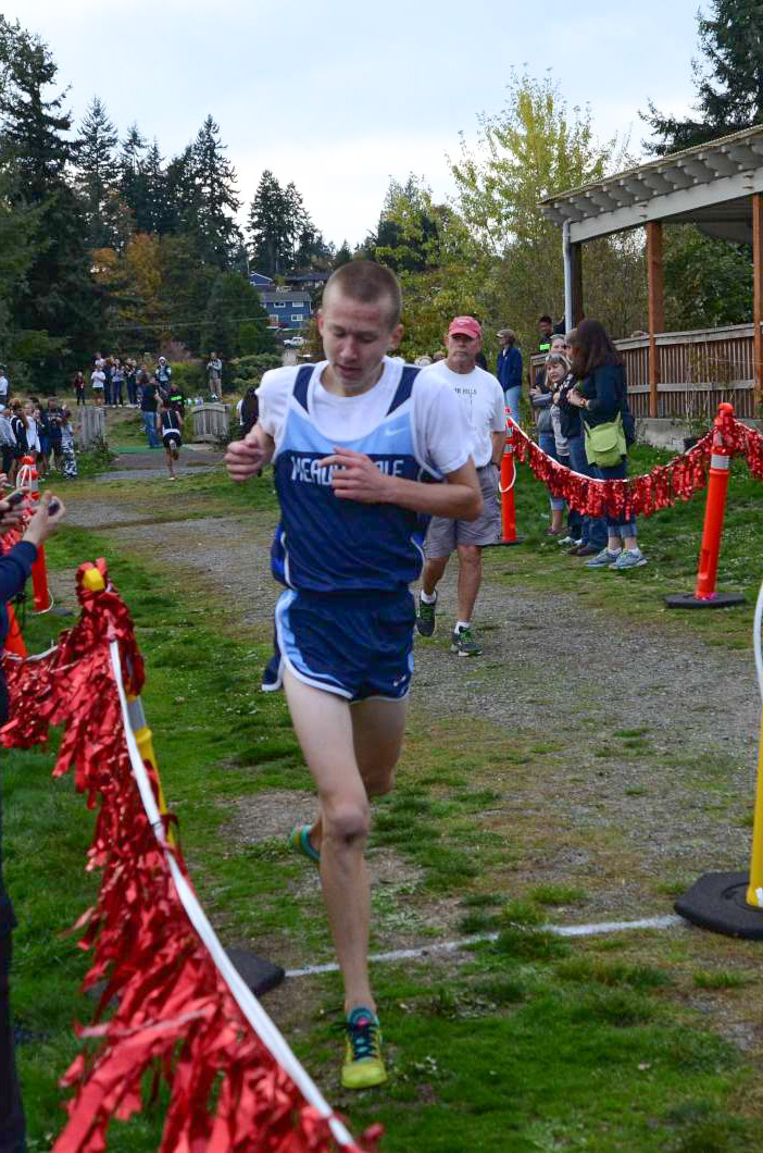 Meadowdale's Cameron Sanders took second place.