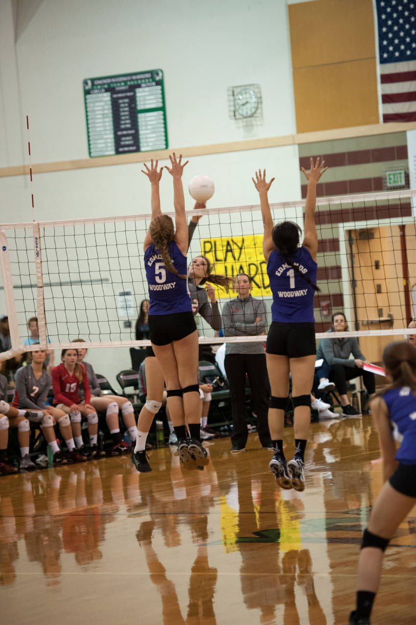 Prep volleyball photo gallery: Warriors fall to Spartans ...