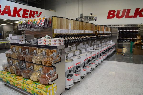 WinCos Bulk Food Department Stocks A Wide Variety Of Items Including Candy Cereals Coffee