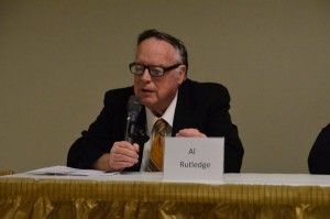 Alvin Rutledge, running against Mike Nelson for council position 2, came out strongly in favor of maintaining current building height limits.