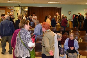 More than 75 citizens turned out for Monday night's candidate forum sponsored by the Alliance of Citizens for Edmonds (ACE) and the Edmonds Senior Center.