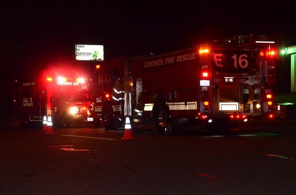 Fire and police units responded to an early evening fire at Paws in Paradise where a clothes dryer overheated and burst into flame.
