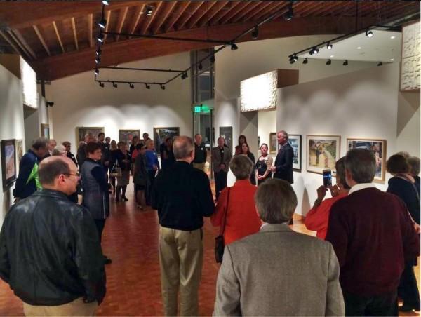 Cascadia Art Museum during a recent event.