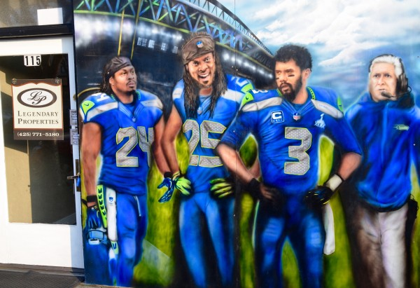 How do I get promo for food bank some publicity? I have a Seahawk mural in front of my office at 115 5th ave. so. Legendary Properties. Promo is take a photo or selfie with the Seahawks and donate $1 to the FOOD BANK.