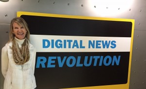 At the Newseum last month.