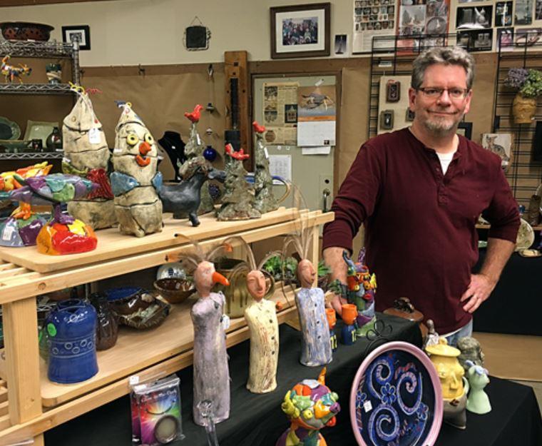 Mike O'Day Sculptors Workshop 1115