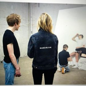 A jean jacket from her line.