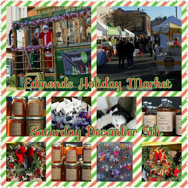 A nice reminder from Janine Harles: The Holiday Market continues this Saturday between City Hall and the Rusty Pelican on 5th Avenue North.