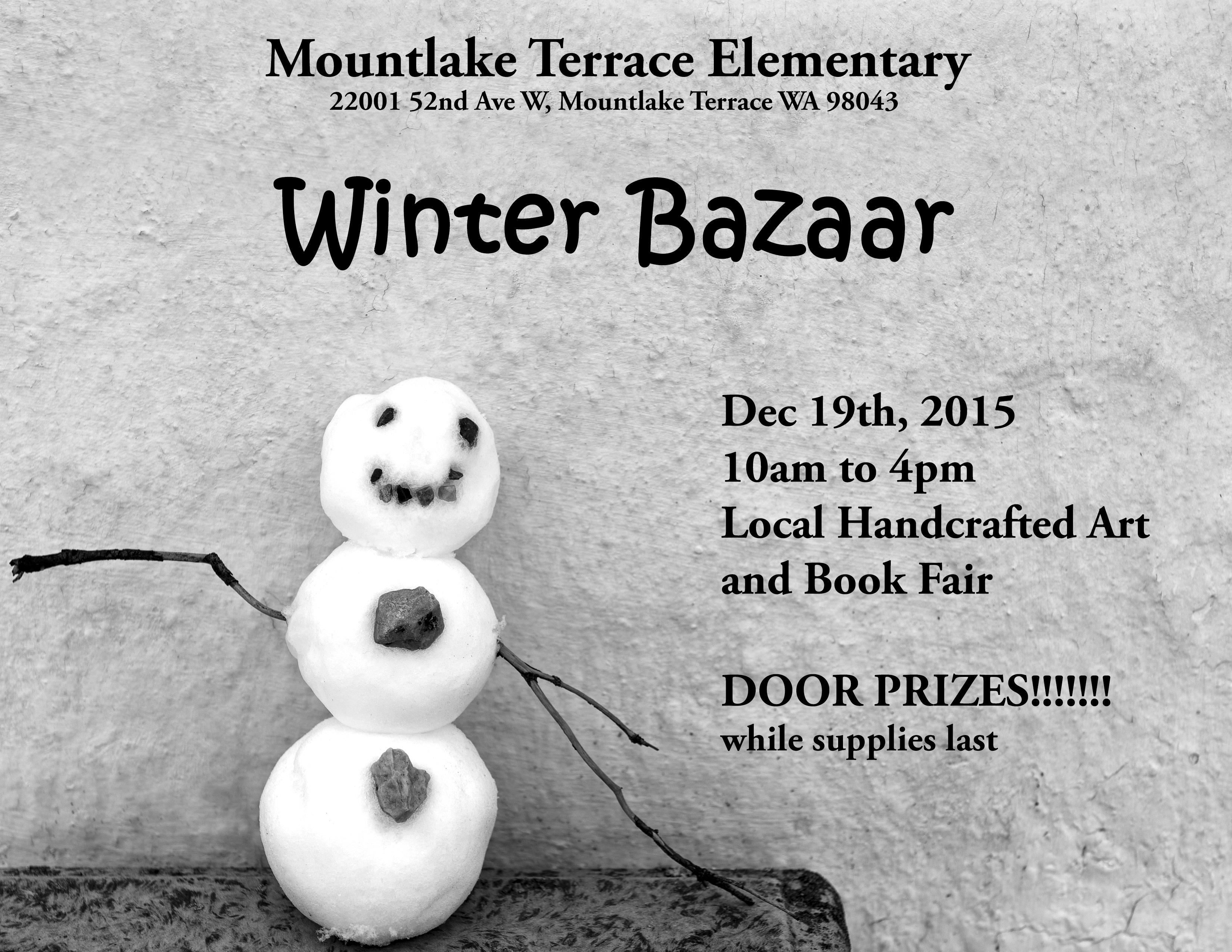 Dec 19 MLT Bazaar