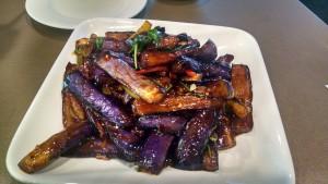 Eggplant at Dumpling King.