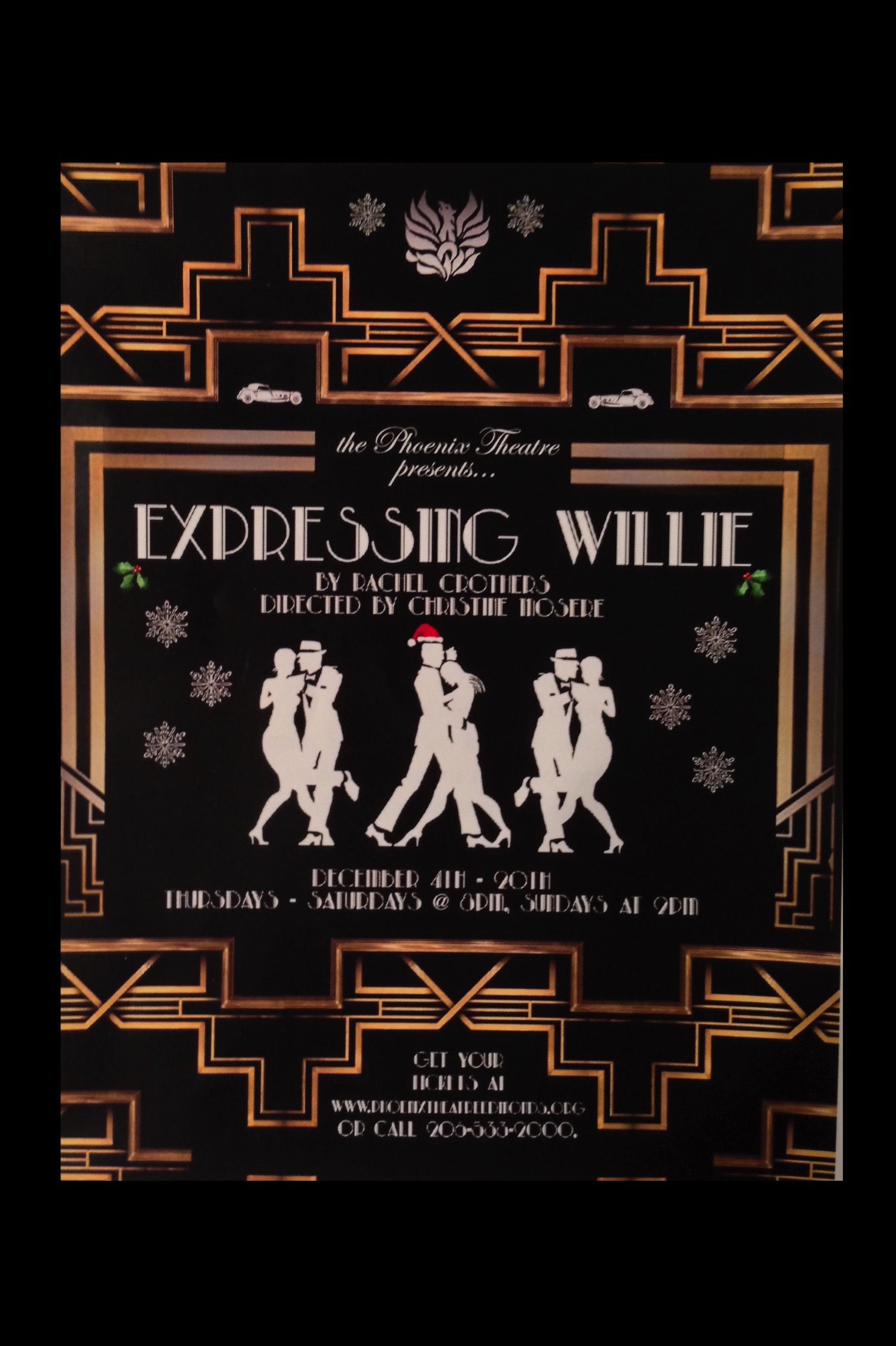 Expressing Willie Program Cover