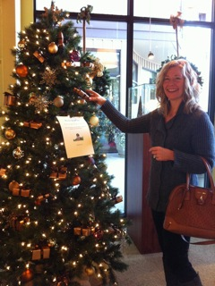 The Make-A-Wish tree is an annual event for us.  We cover the tree with gift wrapped boxes that each one has a jewelry item in, worth $35-$200.  For a minimum donation of $30 to MAW, you may choose any box off the tree!