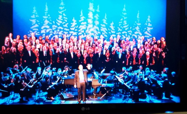 On Saturday afternoon the Northsound Church & Mosaic Arts Choir treated a sold-out ECA audience to a gala holiday show packed with traditional favorites, gospel and classical pieces, all presented with their signature energy and gusto. The concert benefits the Puget Sound Christian Clinic.(Photo by Janice Carr)