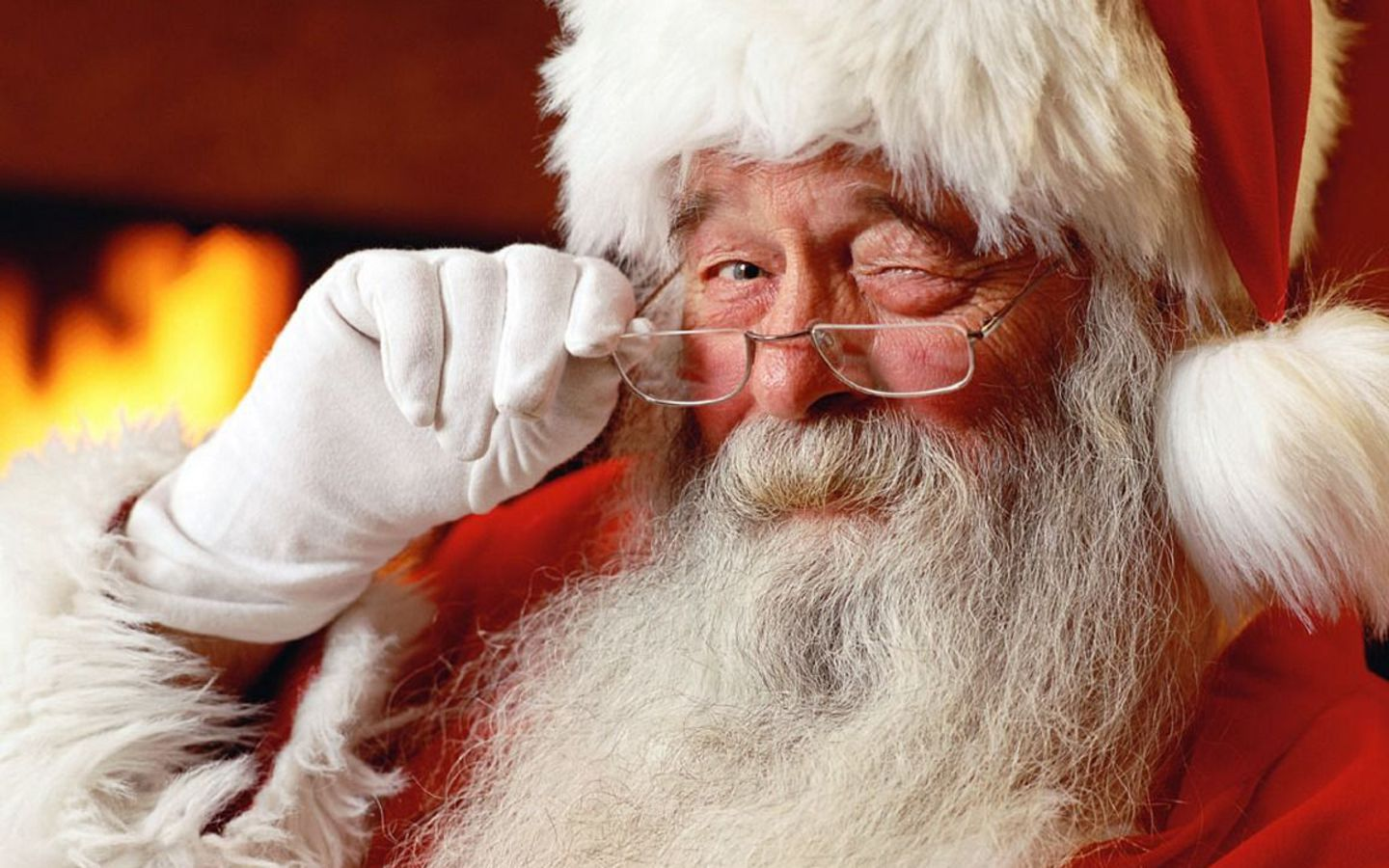free adorable old santa claus picture wallpaper_1440x900_88114 - Free Santa Claus Pictures