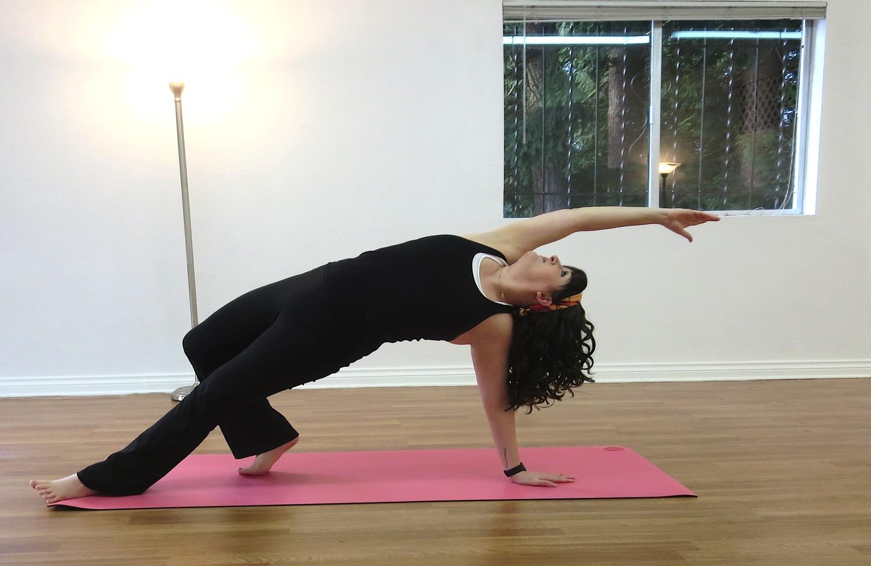 2 Jacqueline In Yoga Pose