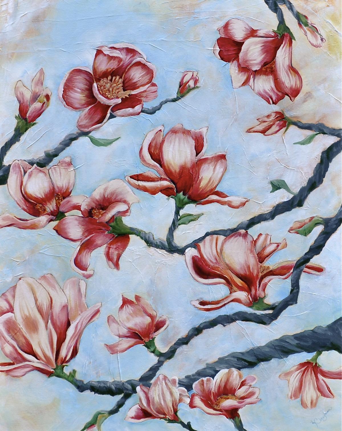 Magnolias-Brayman