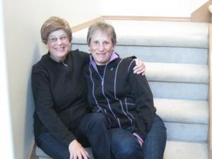 Deborah Binder with her mother Edith.