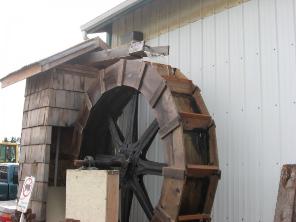 An 8-foot water wheel is among the highlights.