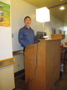Cafe Host Patrick Chen
