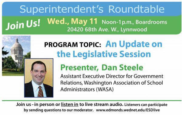 Legislative update graphic