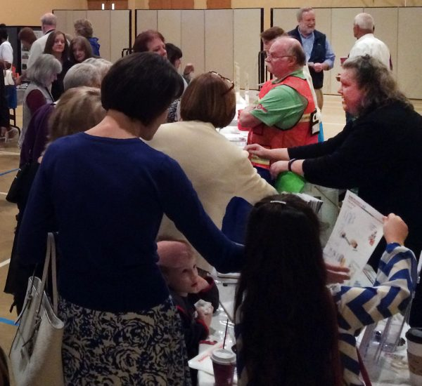 Citizens learn about community preparedness at Westgate Chapel in Edmonds on May 1 during ReadySunday. Fire District 1 launched ReadySunday to help faith-based congregations in south Snohomish County learn how to they can prepare and support each other during a disaster.