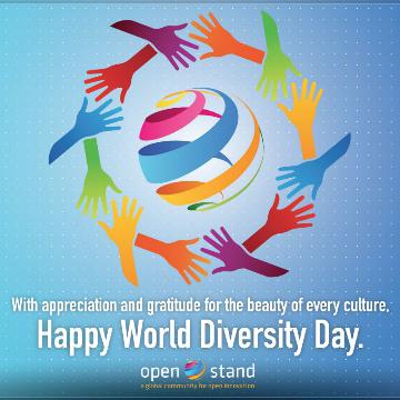 World Diversity Day logo