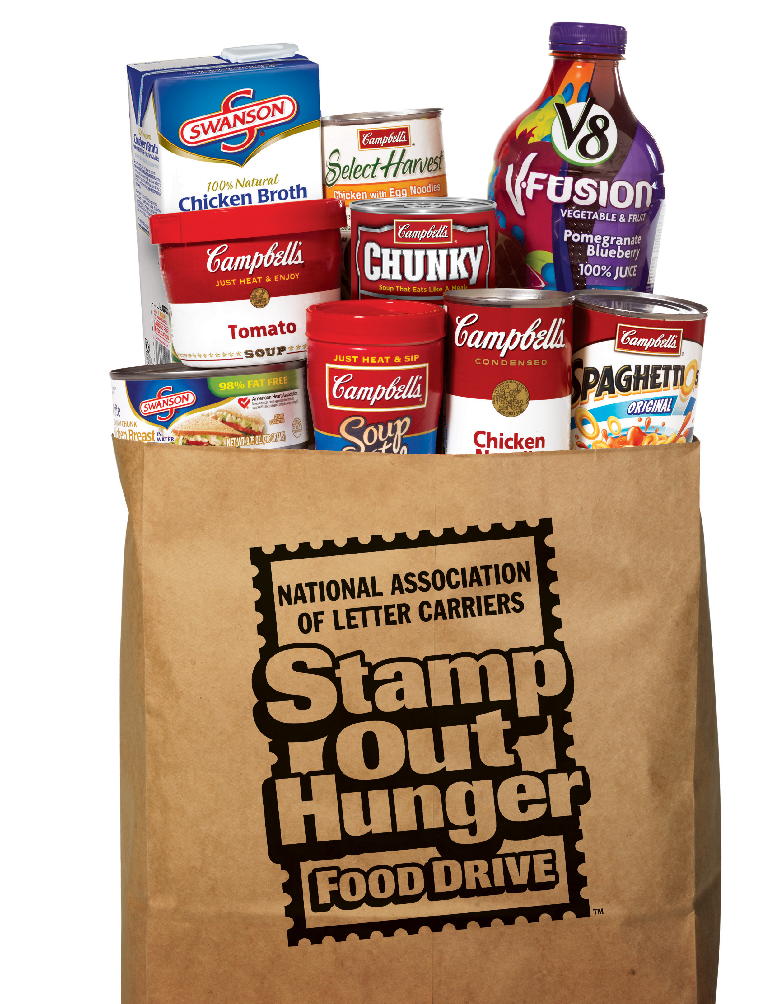 Letter Carriers Stamp Out Hunger Food Drive Reading Eagle