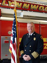 Fire Chief Scott Cockrum