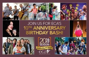 """This Saturday its an Open-to-the-Public """"Birthday Bash"""" as Edmonds Center for the Arts celebrates its 10th Anniversary."""