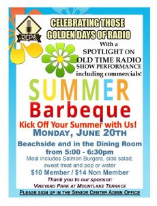 Summer is coming and Edmonds Senior Center has sunny plans!