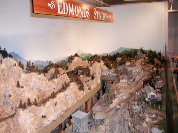 The Edmonds model train exhibit opened at the Edmonds Museum in June 2011. (My Edmonds News file photo)