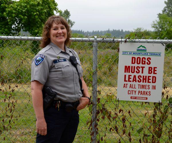 City of Mountlake Terrace Animal Control Officer Elena McKee.