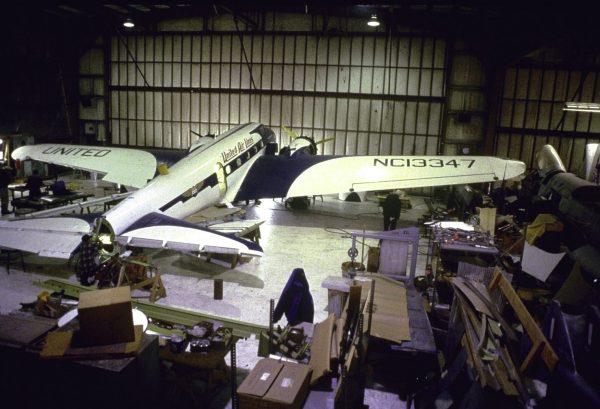 Musem of Flight Restoration Center