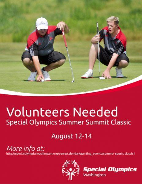 special olympics volunteer