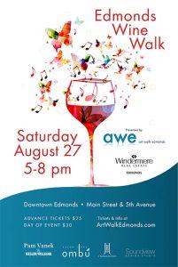 Edmonds Wine Walk - August