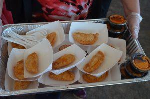 Chicken Empanadas from Demetri's Woodstone Taverna.