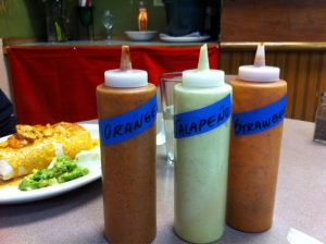House-made sauces