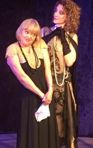 """Susan Connors (L) and her alter-ego in """"I'm HerHerbert"""" which continues its very funny run this weekend."""