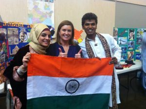 International students contribute to the school's cultural diversity.