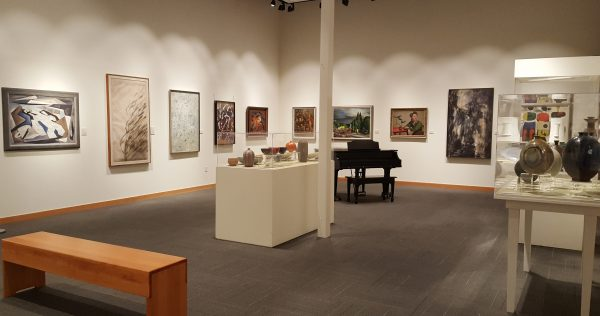 The following Cascadia Art Museum gallery and reception photos were taken by Jeanie Blair.