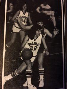 Anya Aardahl, Woodway HS basketball.