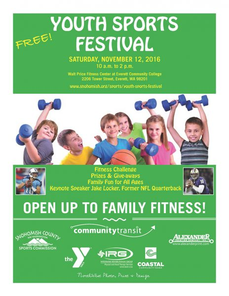 reminder  youth sports festival set for nov  12