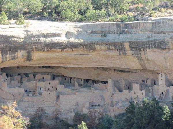 Mesa Verde Cliff House Ruins.