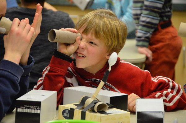 Science Sleuths program at Everett's Imagine Children's Museum.