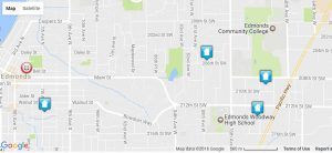 Four recent burglaries show up on the Crime Map for Edmonds.