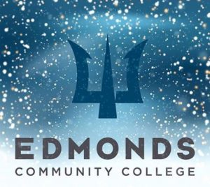 Edmonds Community College gets into the holiday spirit.