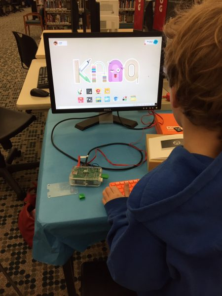 Learn to build your own computer with Kano at the Edmonds Library.