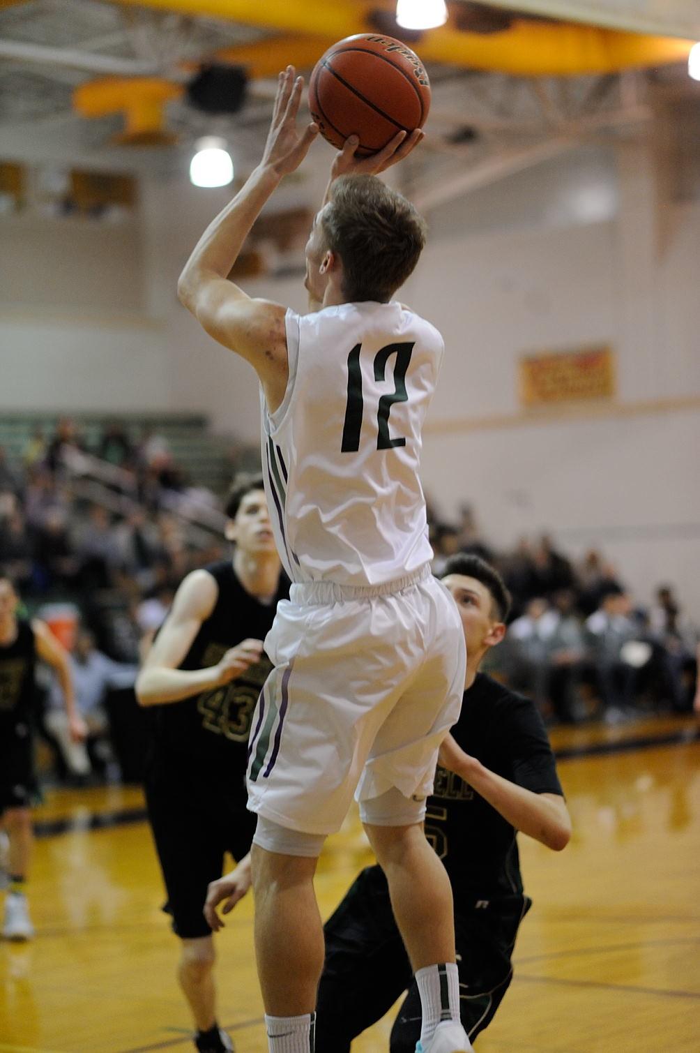 Prep boys basketball: Senior night and a 76-24 win for E-W ...