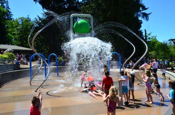 Edmonds City Park Splash Pad