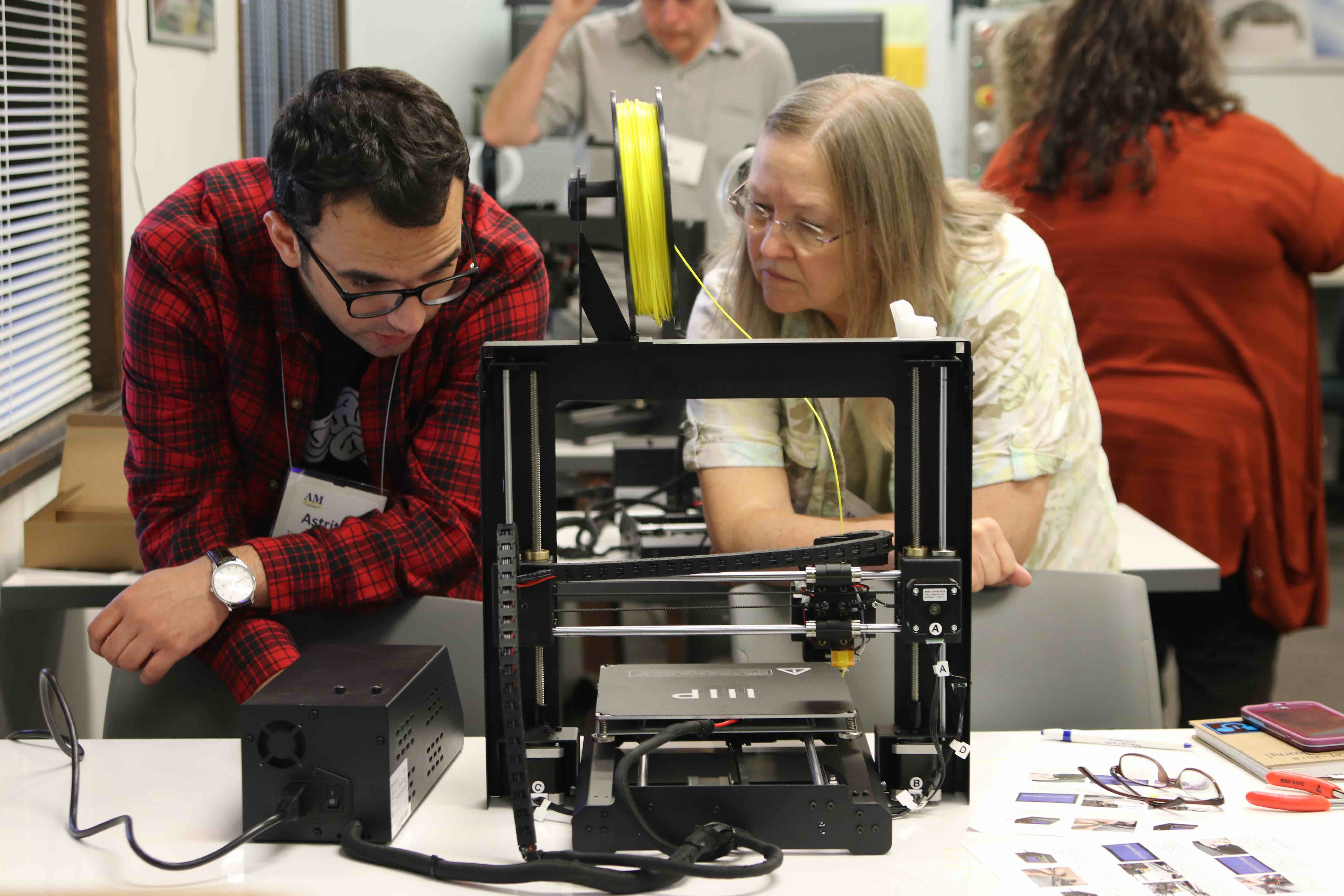 Community College Faculty From Across State Learn 3d